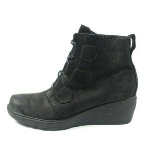 Sorel Toronto Leather Wedge Boots